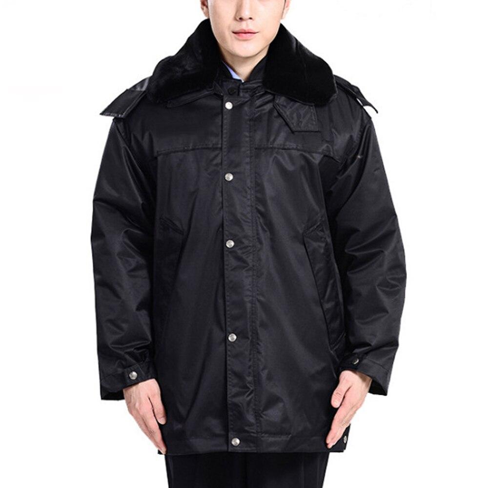 Многофункциональная куртка, рабочая одежда, хлопковое пальто для безопасности, мужское Утепленное зимнее теплое пальто в стиле милитари с ...