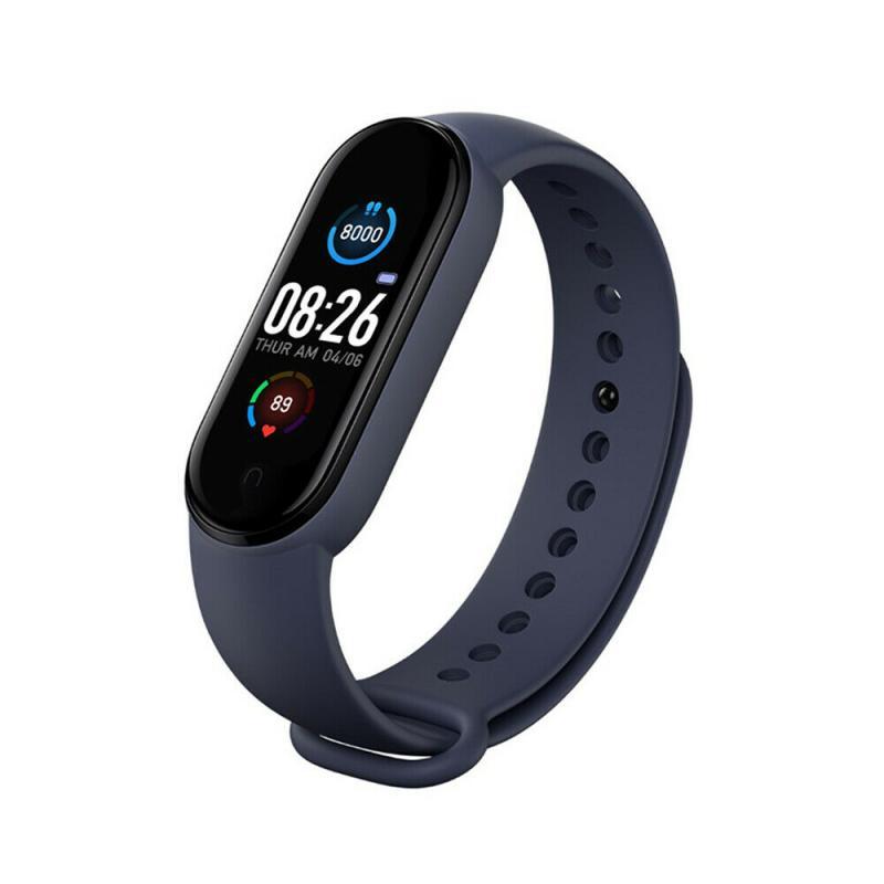 M5 Smart Watches Smart Band Sport Fitness Tracker Pedometer Heart Rate Blood Pressure Monitor Bluetooth Bracelet Men Women Hot