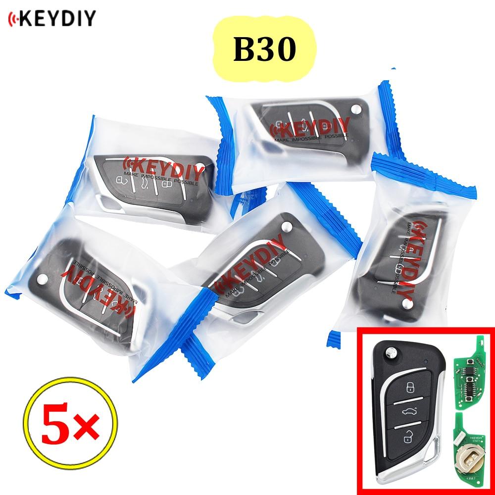 5 قطعة/الوحدة KEYDIY B سلسلة B30 3 زر العالمي KD التحكم عن بعد ل KD900 KD900 + URG200 KD-X2 mini KD