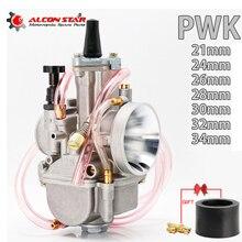 Alconstar- 21 24 26 28 30 32 34mm 2T 4T PWK Motorrad Vergaser Carb Power Jet für Mikuni Koso OKO ATV Für Suzuki für Yamaha