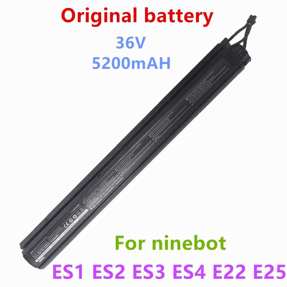 Original ninebot es1 es2 es3 es4 e22 e25 montagem da bateria interna para ninebot scooter es1 es2 es3 es4 scooter elétrico inteligente