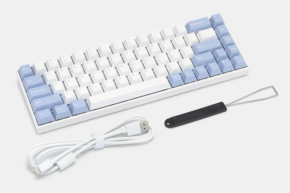 Flesports F12 Polia Switch Mechanical Gaming Keyboard Full RGB Backlit Bluetooth 4.0 Wired Wireless LED Computer Keyboard enlarge