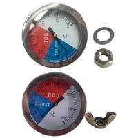 Кухонный Термометр с большим циферблатом, измеритель температуры для приготовления пищи, барбекю, духовки, гриля, измеритель для выпечки мя...