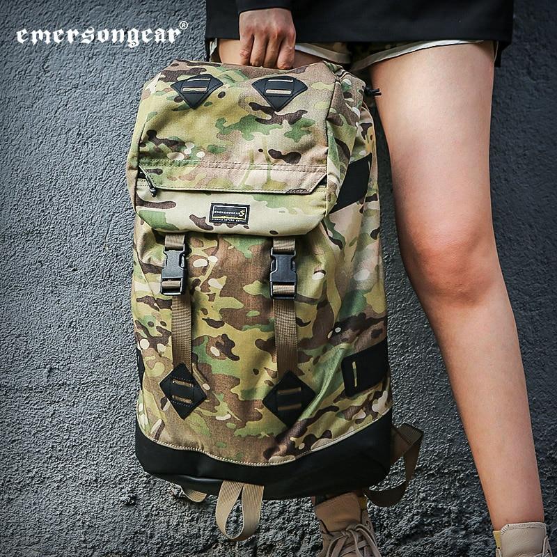 Emersongear Tactical Bag Camoflage Backpack UTG Messenger Bag 30L High Capacity Survival Hiking Camping Travel Bag MIlitary Bag