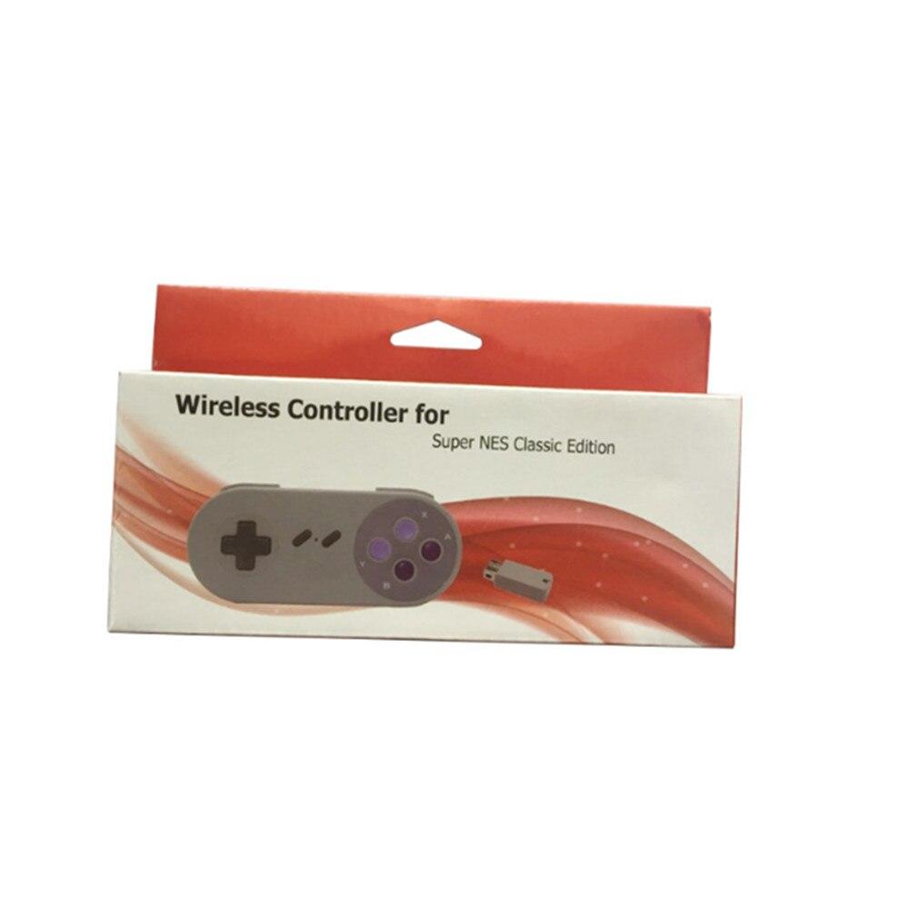 100 Uds Control Remoto Portátil 2,4G controlador inalámbrico para SNES Classic Mini consola