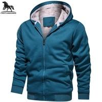 jacket men spring autumn new mens jackets solid color plus velvet hooded windbreaker jackets youth casual coat mens coats 8817