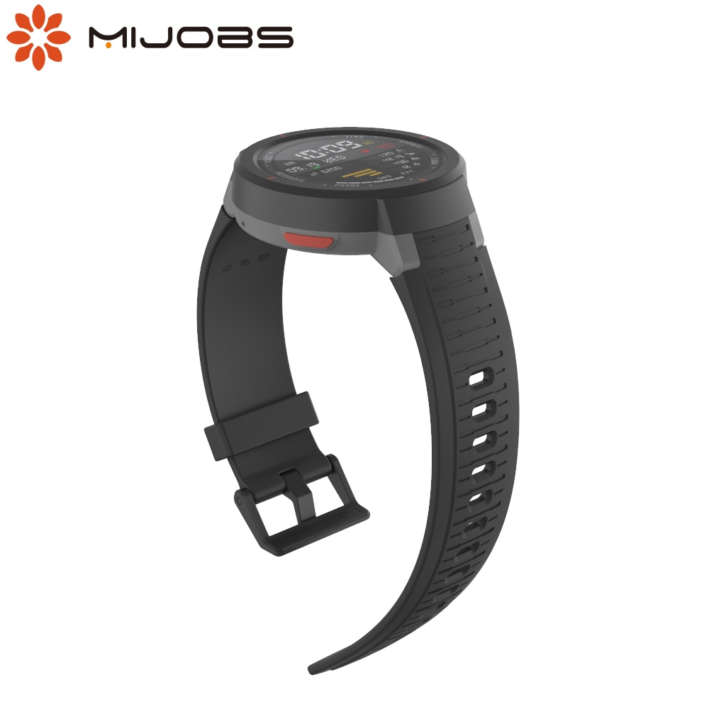 For Amazfit Verge Strap Wristbands Bracelet for Huami Amazfit Verge Lite Watch Band Correa Silicone Replacement Wrist Belt