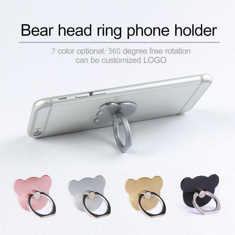 Frete grátis série q 6 cores titular universal anel do telefone móvel 3d suporte de aperto do dedo para o iphone x 8 7 6 5 plus samsung