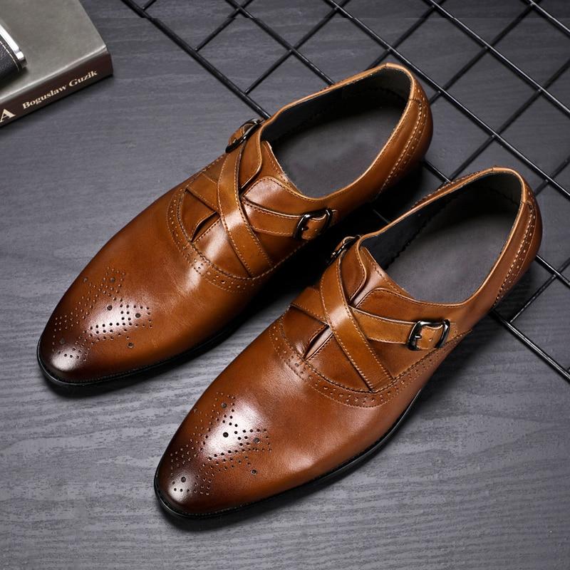 Nuevos Zapatos de marca italiana de lujo, mocasines de cuero para hombres, Zapatos metálicos Blet, Zapatos para hombres, Zapatos de tacón alto con piel de serpiente, Zapatos de boda