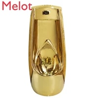 vertical intelligent induction european gold urine cup mens wall mounted floor urinal ceramic urinal funnel urinal