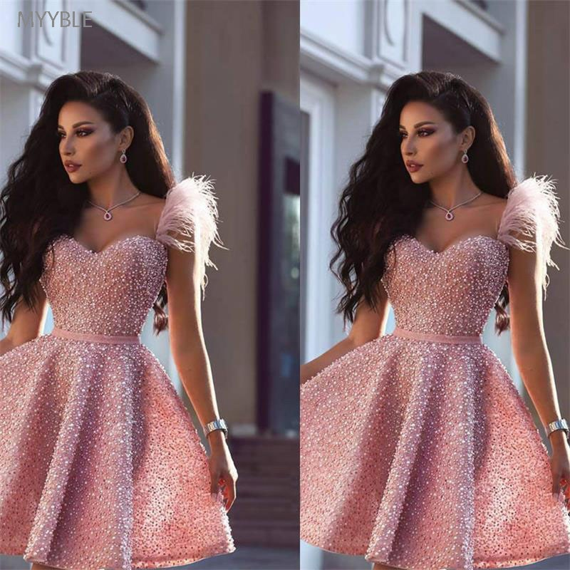Myble-فستان حفلة التخرج مقاس كبير ، ملابس مثيرة على الطراز العربي في دبي ، 2020