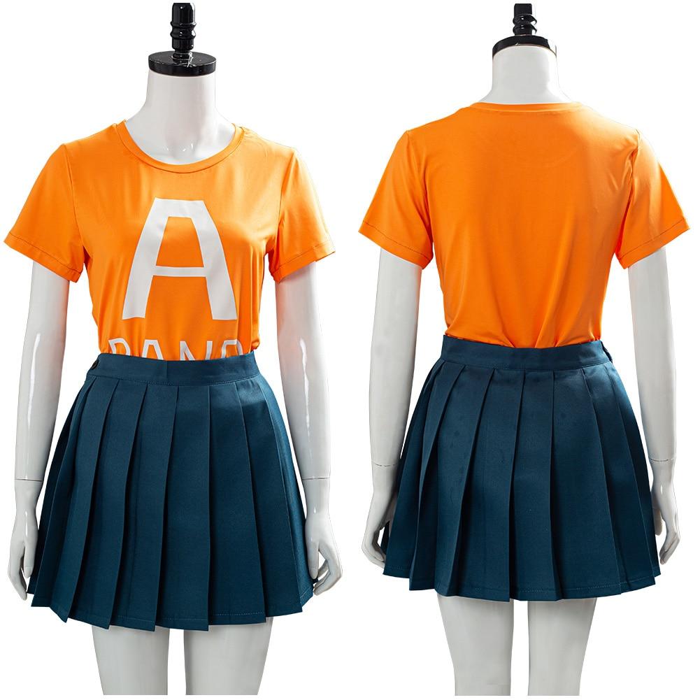 Herói Academia Temporada Uraraka Ochako Cosplay Traje Escola Uniforme Vestido Roupa Halloween Canrival Trajes Meu 4