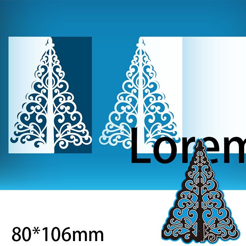 aliexpress.com - Metal Cutting Dies CHRISTMAS TREE new for decoration card DIY Scrapbooking stencil Paper Craft Album template Dies 80*106mm
