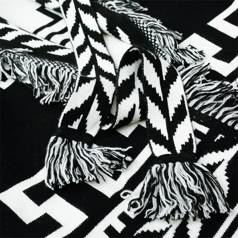 GypsyLady Cashmere Knitted Cardigan Coat Winter Runway Women Sweater Belt Long Sleeve Fringe Shawl Lapel Tassels Cardigan Coats enlarge