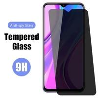 2pcs anti spy tempered glass for huawei y9 2019 y6 y7 y5 prime privacy screen protector on huawei y9s y8p y6p y8s y7a y9a 2019