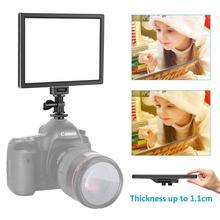 Neewer كاميرا LED الفيديو الضوئي-سمد مصباح ليد لوحة ل ليونة الإضاءة التصوير الفوتوغرافي ، 3200K إلى 5600K متغير درجة حرارة اللون