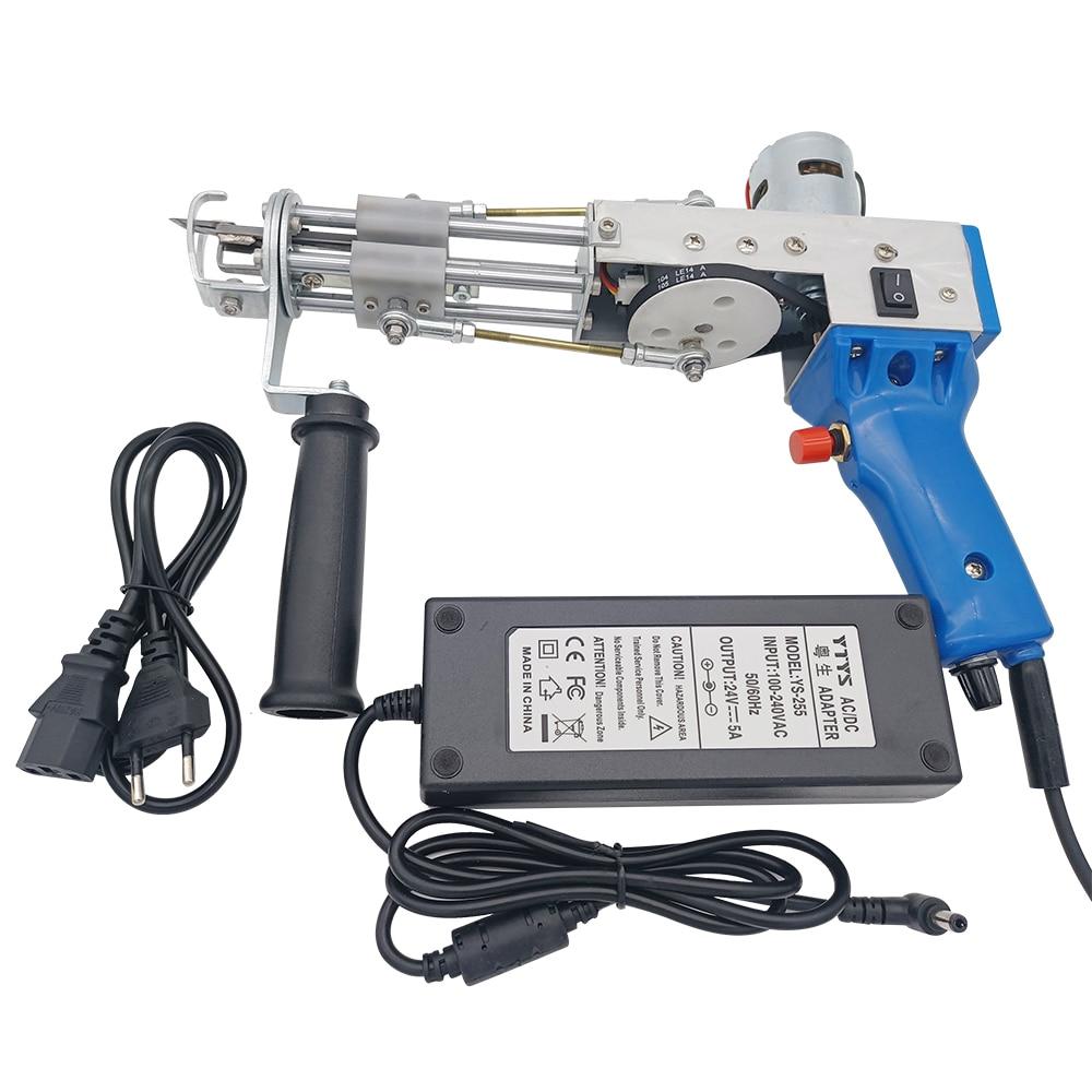Electric carpet tufting gun hand gun Carpet weaving flocking machines Loop Pile Cut pile enlarge