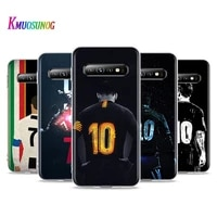 football lucky number m 10 c 7 for samsung galaxy s21 s20 fe ultra s10 lite 5g s10e s9 s8 plus s7 s6 edge soft phone case