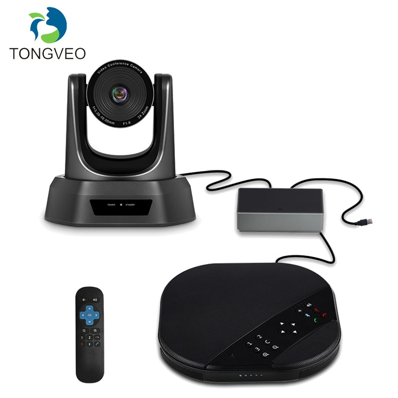 TONGVEO VA2000 3X video conferencing camera with speakerphone and USB Hub perfectly for Small video conference