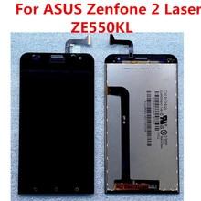 ASUS Zenfone 2 lazer ZE550KL dokunmatik LCD ekran ekran yedek parçalar ASUS ZE550KL LCD