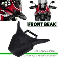 motorcycle front beak extender front beak fairing for honda crf1100l crf 1100 l crf 1100l africa twin adventure sports 2020