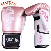 hyhg mma boxing gloves men for adults pu karate muay thai pads guantes de boxeo free fight sanda boxing training equipment