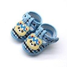 Chaussures antidérapantes souples pour bébés   Chaussures de marche, à semelle souple, pour tout-petits de 0 à 18M, avec motif danimal de dessin animé, pour premiers marcheurs