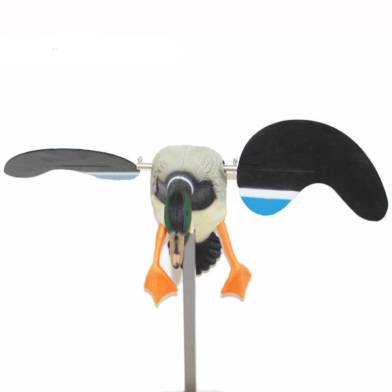 Señuelo de caza de patos pddjkk con alas giratorias magnéticas, señuelo de pato de Pe real DC 4*1,5 V, batería de 50-100 metros de Control remoto