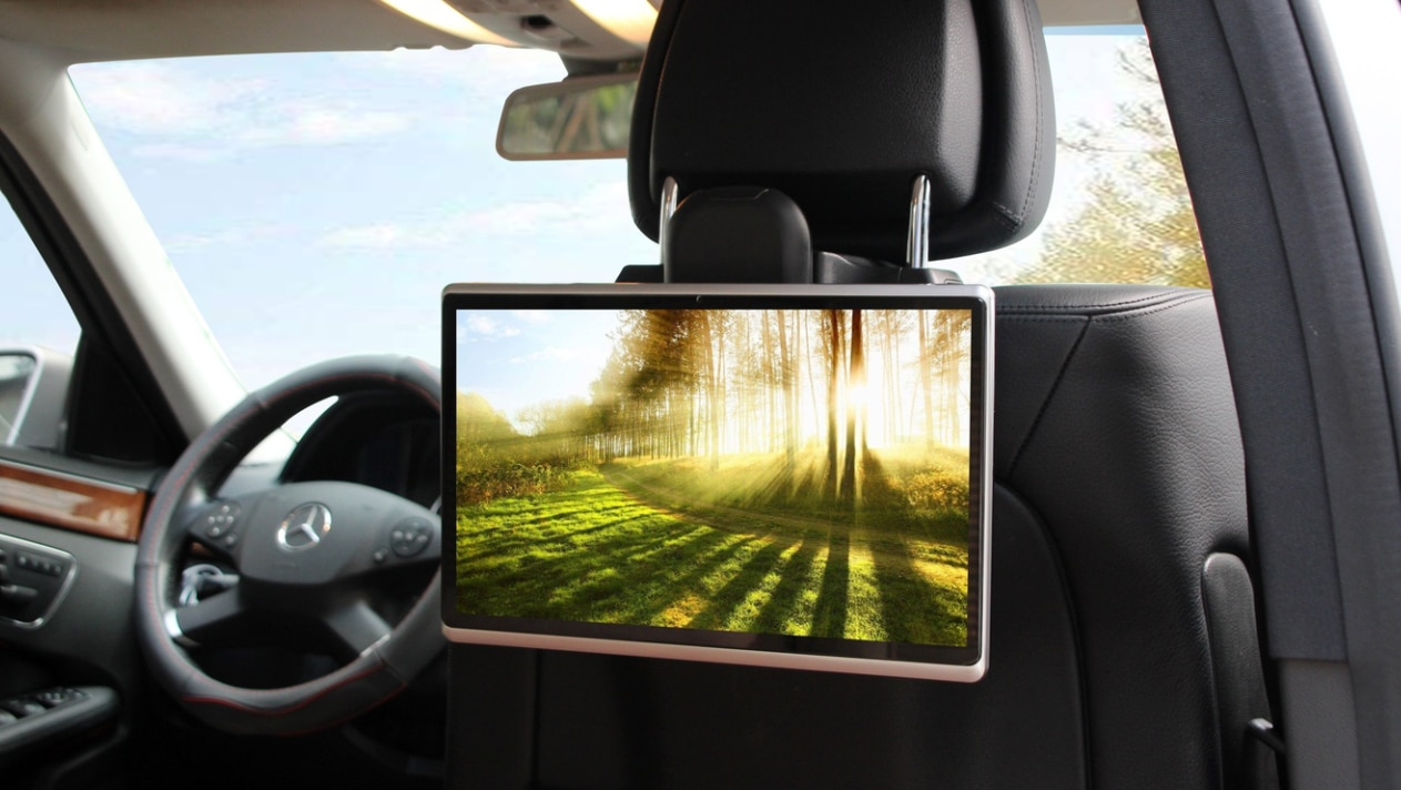 Headrest Display Monitor Android 9 HDMI Car TV Player 13.3