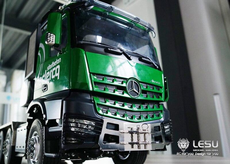 LESU 1/14 Metal Front Hook A for TAMIYA Benz 3363 3348 dumper RC Tractor Truck Model TH04806-SMT5 enlarge