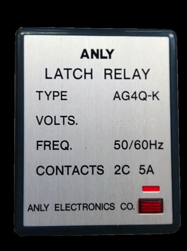 220v original autêntico anly AG4Q-K AG4Q-S AG4Q-J relé de travamento