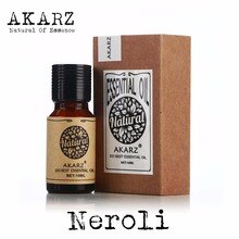Neroli Essential Oil AKARZ Top Brand Body Face Skin Care Spa Message Fragrance Lamp Aromatherapy Ner