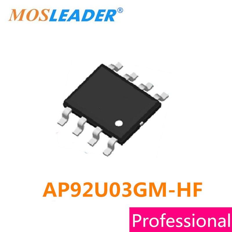 Mosleader SOP8 AP92U03GM-HF 100 قطعة AP92U03GM SOIC8 30V N-قناة عالية الجودة