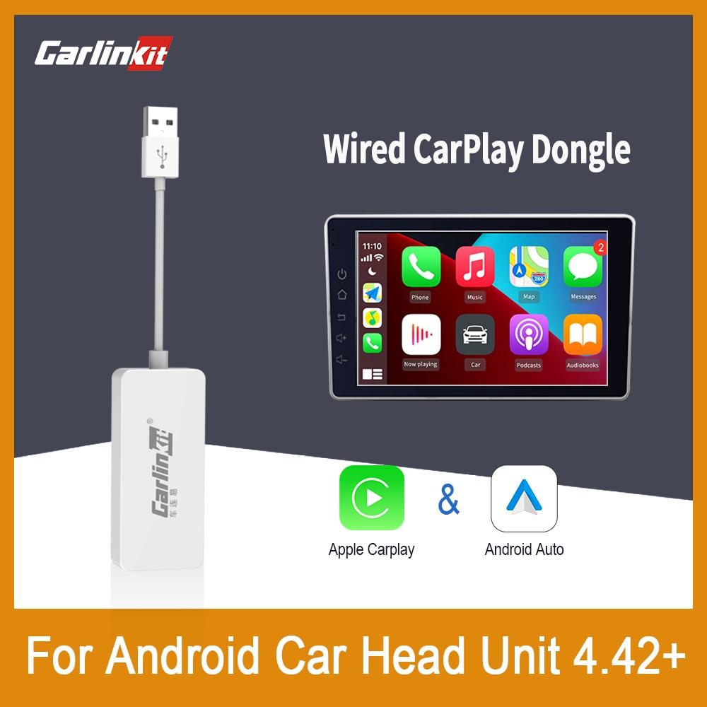 CarlinKit Apple Carplay Dongle Wired Android Auto For Android system Navigation Player Smark Box Mirror Car Play Radio Plug&Play radio killer andrea t mendoza play
