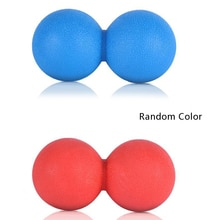 Peanut Massage Ball Double Lacrosse Mobility Ball for Physical Therapy 6.4cm