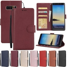 Leather Case For Samsung Galaxy S21 S20 S10 S9 S8 Plus/Ultra/Lite S7 S6 Edge S5 S20FE S10E/Plus Wall