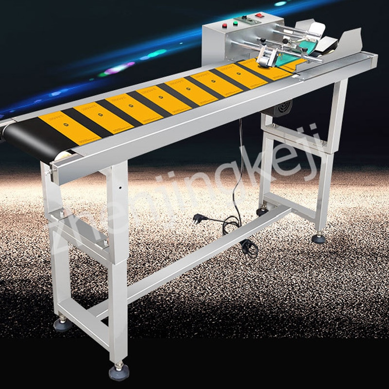 High Speed Spurt Code Adjustable Paging Machine Separator Assembly Line Coder Fully Automatic Two-way Printing High Speed Simple