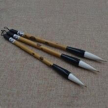 Calligraphie chinoise pinceau stylo maobi art pinceaux stylo pour lécriture peinture stylo cheveux naturels calligraphie brosse 1pc