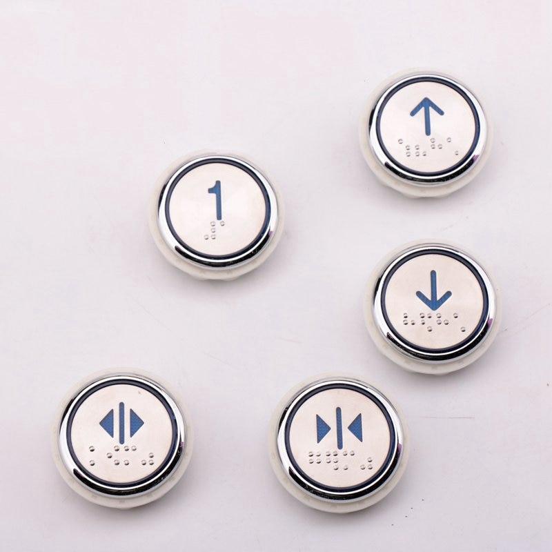 5 قطعة PB29 زر JY000 الأزرق ضوء برايل ل شندلر أوتيس قطع غيار المصعد AQ1H1350