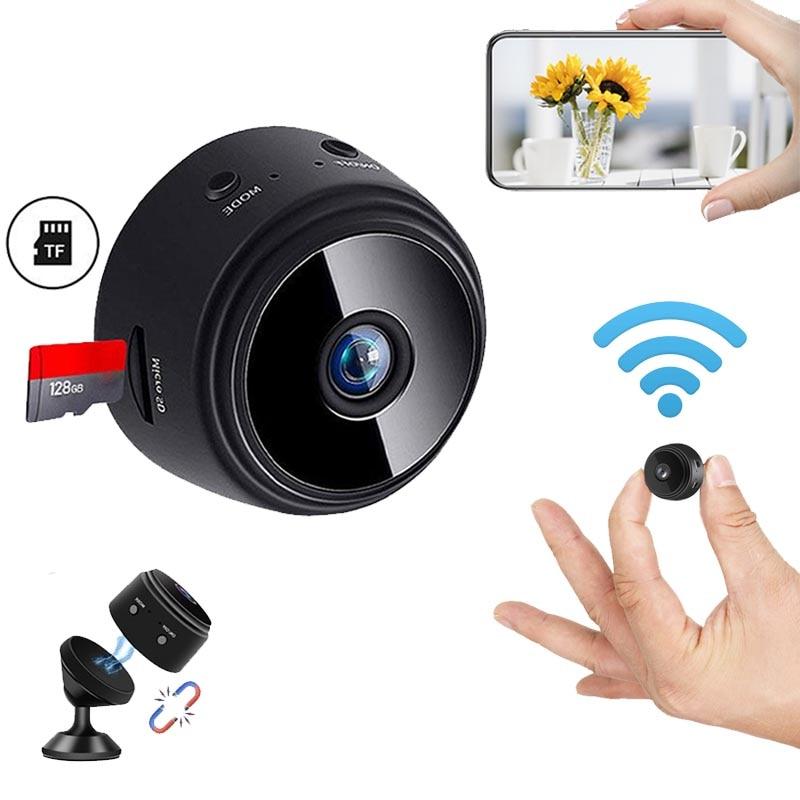 JOZUZE A9 Wireless ip Mini Camera Home Security Camera WiFi Night Vision 1080P Wireless Surveillance Camera Remote Monitor