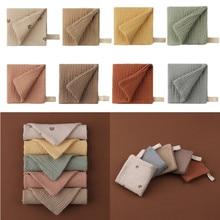 1 PC 4 Layer Soft Absorbent Gauze Burp Cloth Cotton Baby Bibs Handkerchief Pacifier Cloth Newborn Cuddle Cloth Baby Stuff