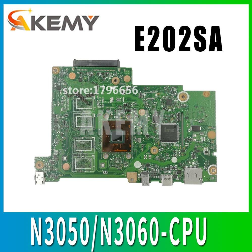 N3050/N3060-CPU 2GB/4GB-RAM E202SA اللوحة الأم لاسوس E202S E202SA اللوحة الأم اختبار العمل