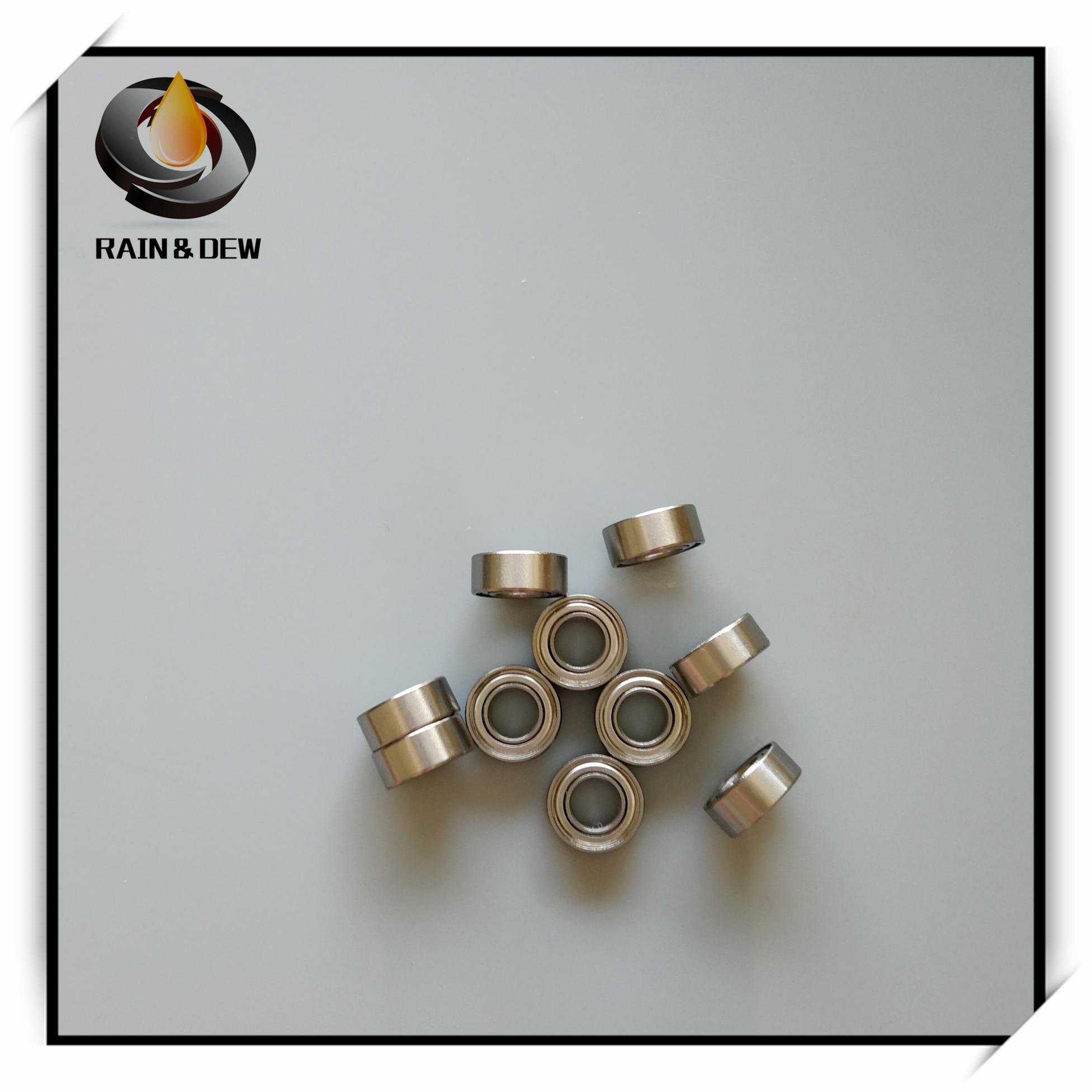 10Pcs SMR105ZZ ABEC-7 Stainless Steel Ball Bearing 5x10x4 mm Miniature MR105 MR105ZZ Ball Bearings L-1050ZZ