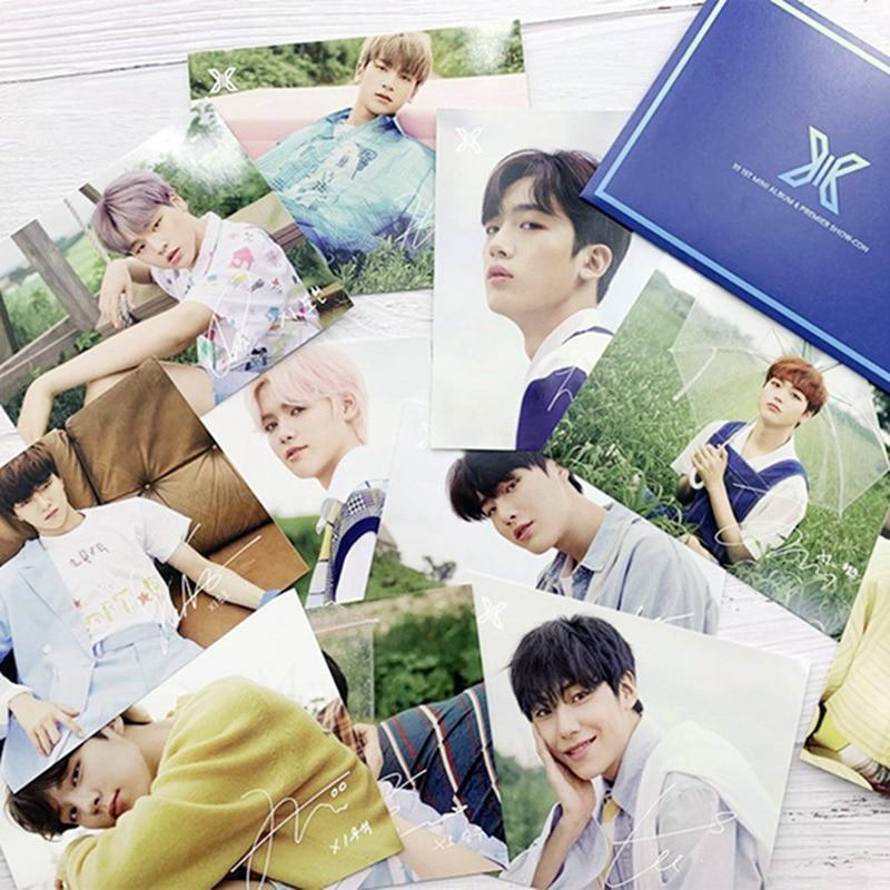 11 unids/set Produce101 X1 concierto 1 álbum salto postal LOMO tarjeta KIM YOHAN HANGYUL canción HYEONG JUN regalo