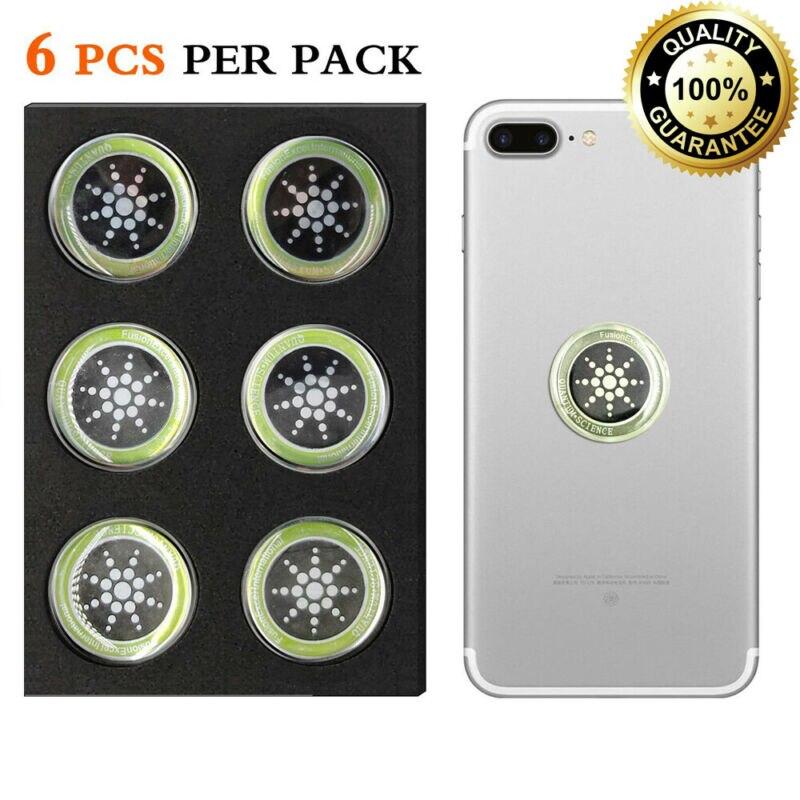 6 x genuino Anti radiación teléfono Tablet Laptop pegatina Protégete de EMF