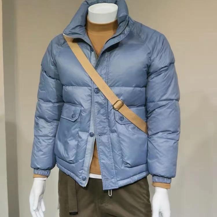 2021 mens fashion cotton jacket new high-quality brand casual clothing down season men winter
