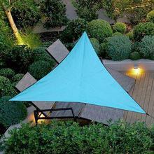 3/4/6m Outdoor Triangle Sun Shelter Sunshade  Garden Patio Camping Awning Shade Tarp Travel Awning Sunshade Gazebo