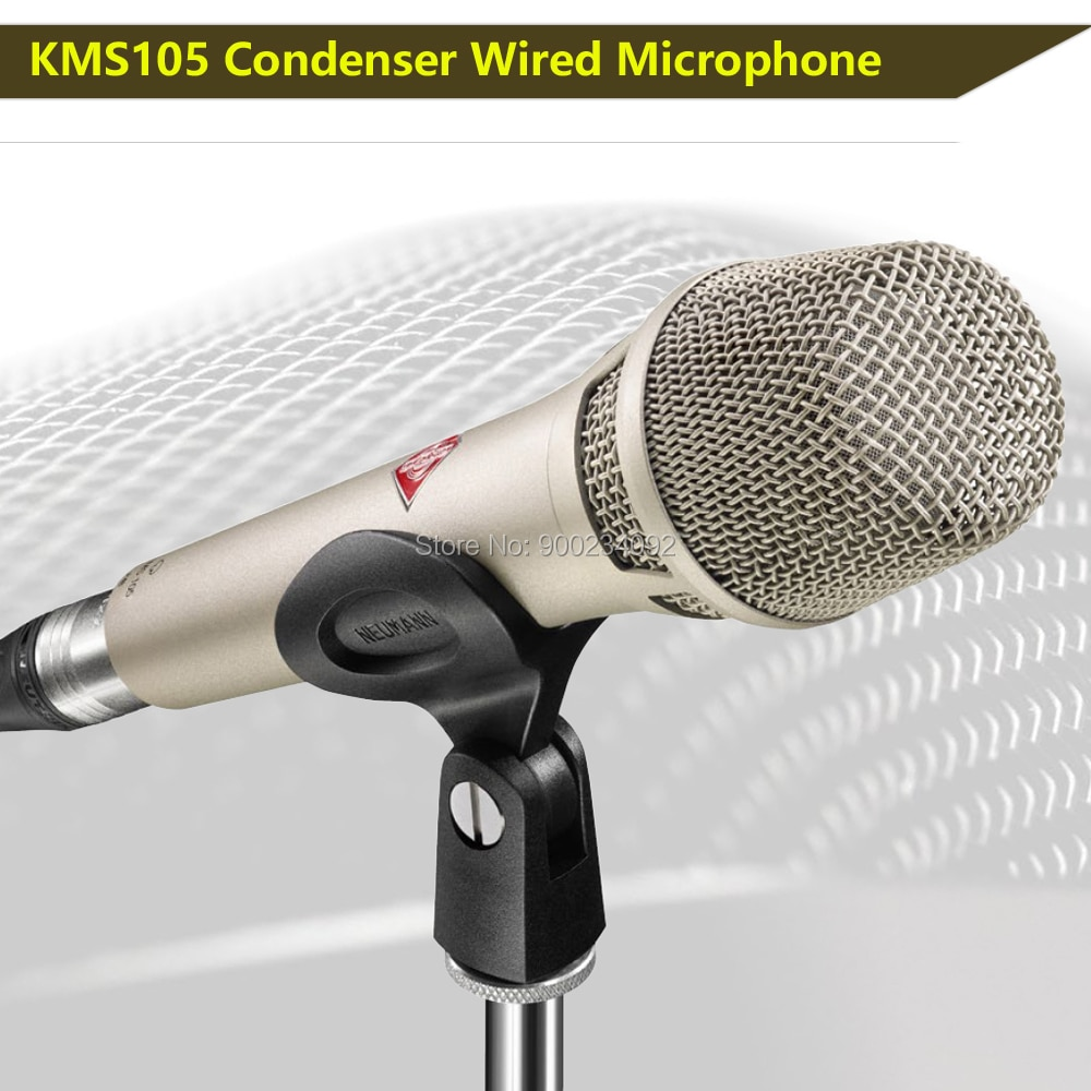KMS105 Microphone Supercardioid kms105 Condenser microphone studio recording Microphone