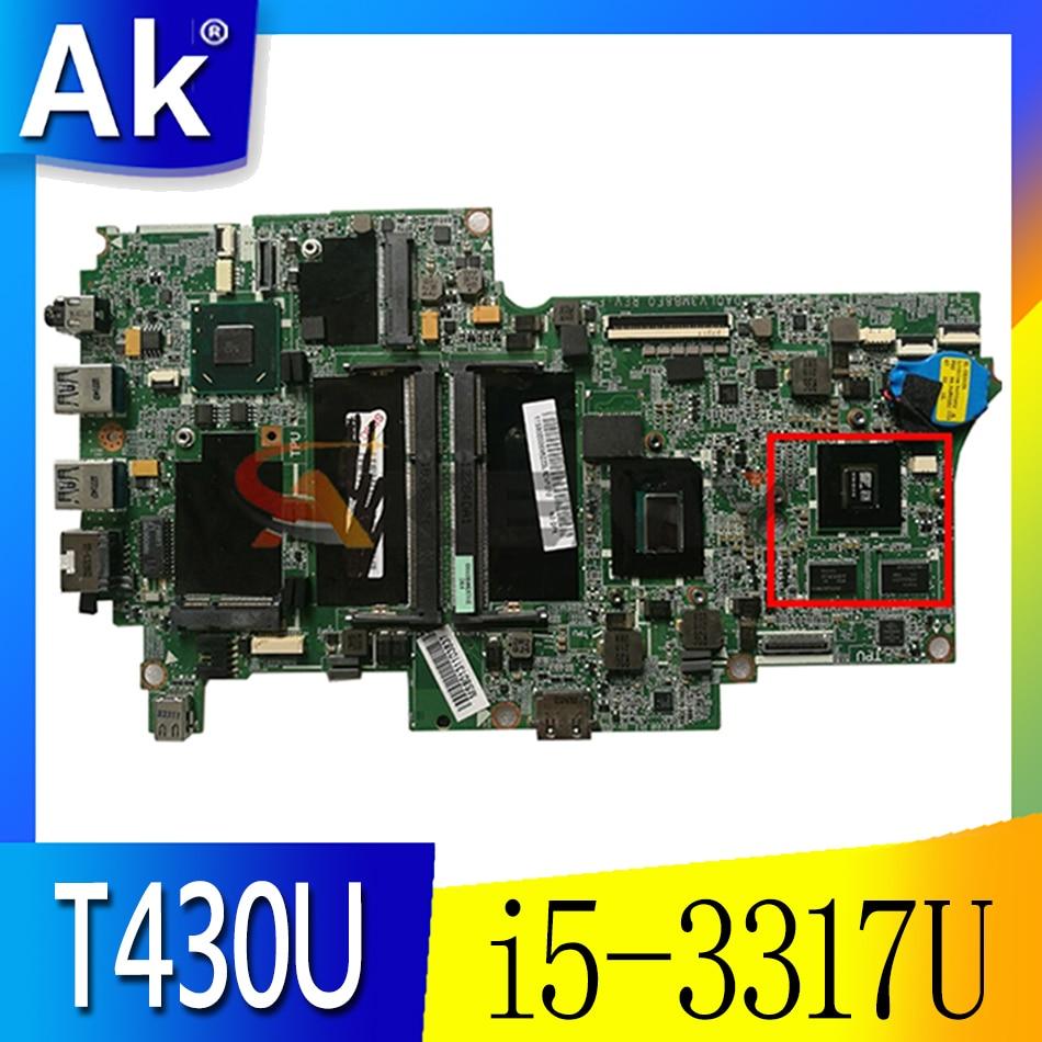 Thinkpad مناسبة ، i5-3317U ، DIS FRU 04X4707 04X4708 04X4709 04X4710 04X4712 للوحة الأم بطاقة الرسومات T430U