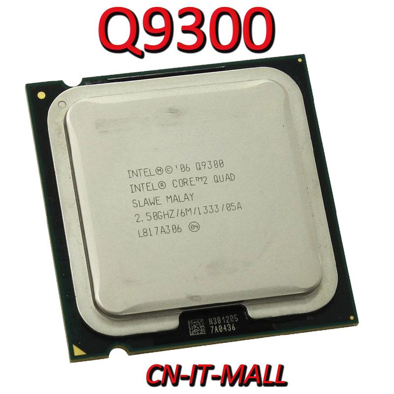 Intel Core Q9300 CPU 2,5G 6M 4 Core 4 hilo LGA775 procesador
